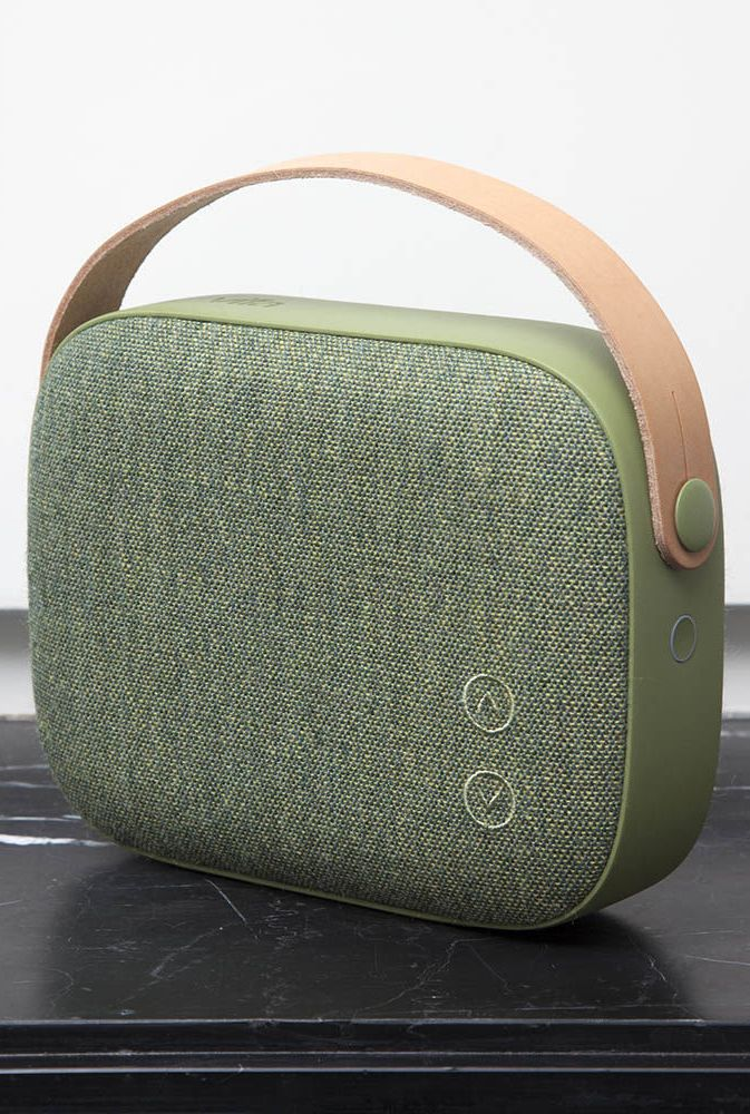 VIFA | HELSINKI WIRELESS BLUETOOTH SPEAKER. Portable bluetooth speaker in Willow Green