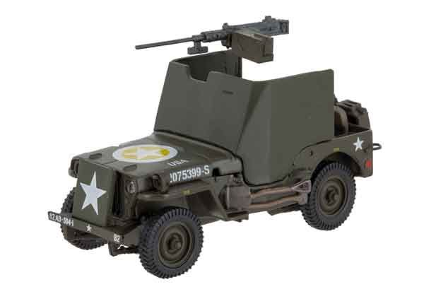 Jeep Willys MB w/Armor Plating - 82nd Airborne 1945 - 1:43