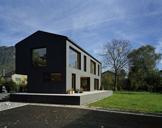 86 best Pitched Roof Contemporary Houses images on Pinterest