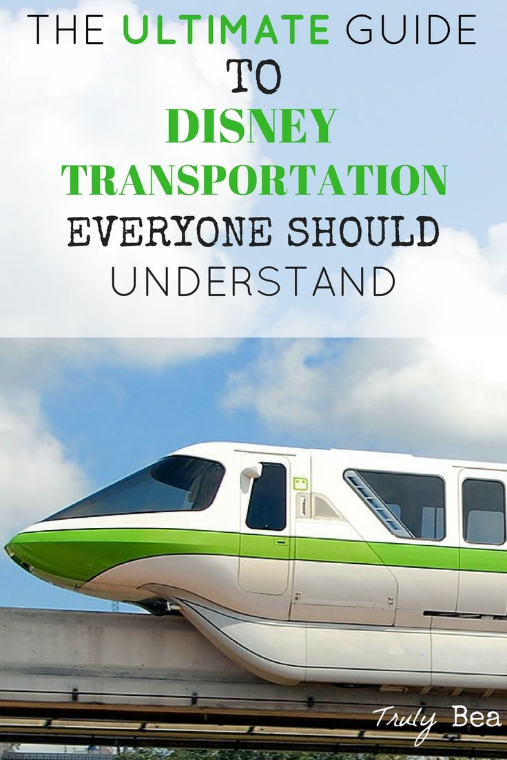 The Seriously Awesome Ways to Getting around Walt Disney World Everyone Should Know. She does an awesome job explaining all of the Disney World transportation options!! This is a must-read if you're going to Disney- especially for the first time. PIN!!