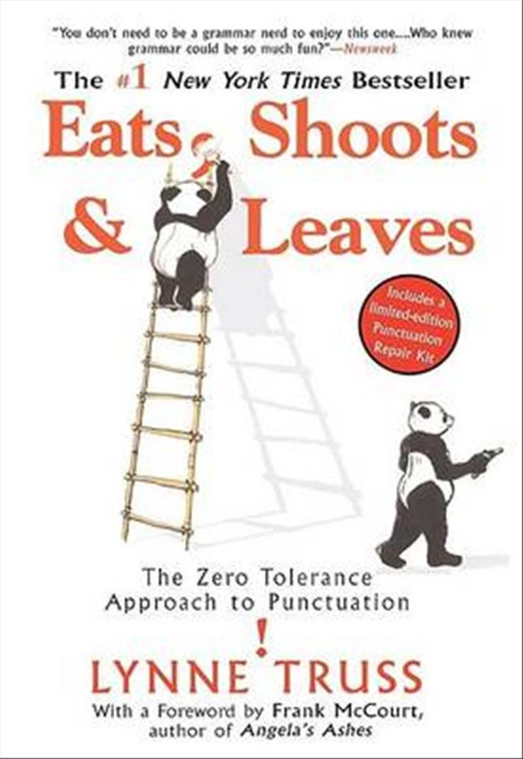 """When Lynne Truss wrote her """"small book on punctuation"""", she had no idea that it would become a bestseller that reinvigorates interest in the niceties of the English language.  Eats, Shoots and Leaves is more than a guide to punctuation use – it is also a lament and a call-to-arms.  Through amusing anecdotes drawn from history, literature, and real signage, Lynne Truss discusses the origin and history of different punctuations and how they should be used."""