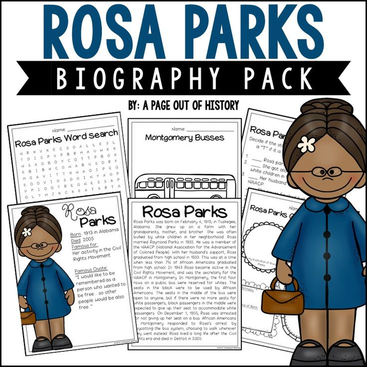 rosa parks biographical essay Rosa parks is an example of how the actions of one person can start a chain reaction of events that has far-reaching results her refusal to give up her seat on a city bus inspired other african-americans to demand better treatment in all areas of their lives she was a reluctant hero, and probably not all of the things that.