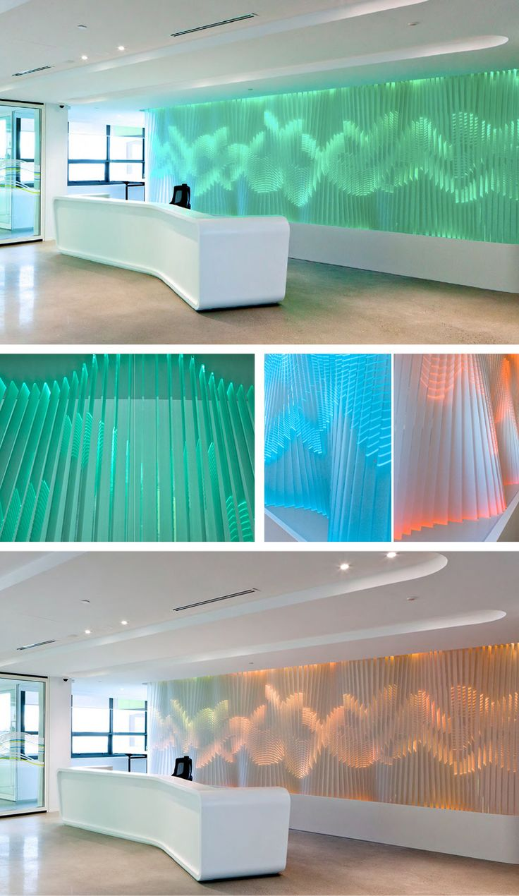 Bringing water to life for a drinks distributor's corporate office.