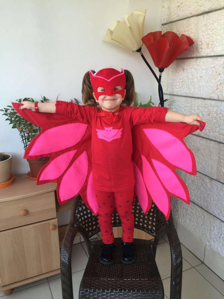 Owlette costume/mask. Inspired by PJ Masks by VickyVickycrafts