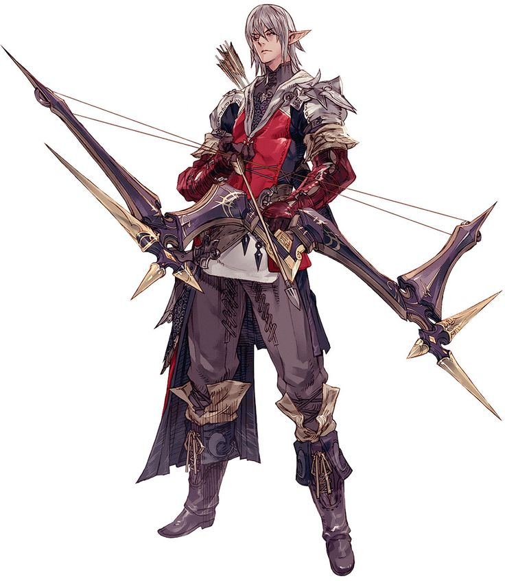 Elezen Male Archer from Final Fantasy XIV: A Realm Reborn