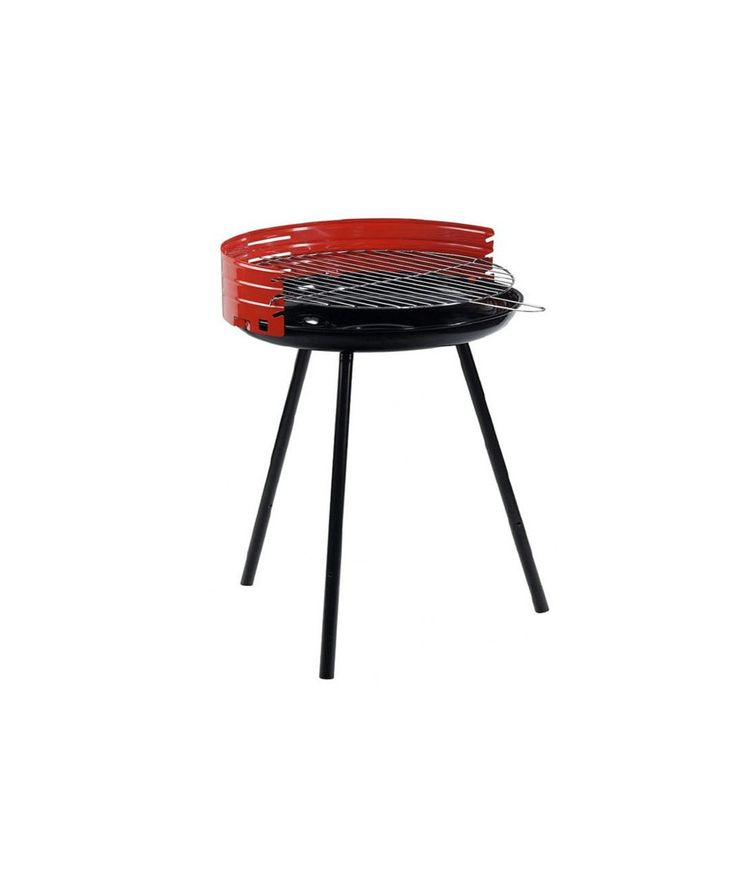 Barbacoa cl sica de 50 cm de acero inoxidable barbacoas - Parrillas de barbacoa ...