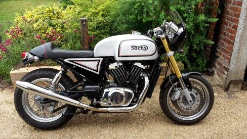 Sachs V Twin Cafe Racer Motorcycle For Sale