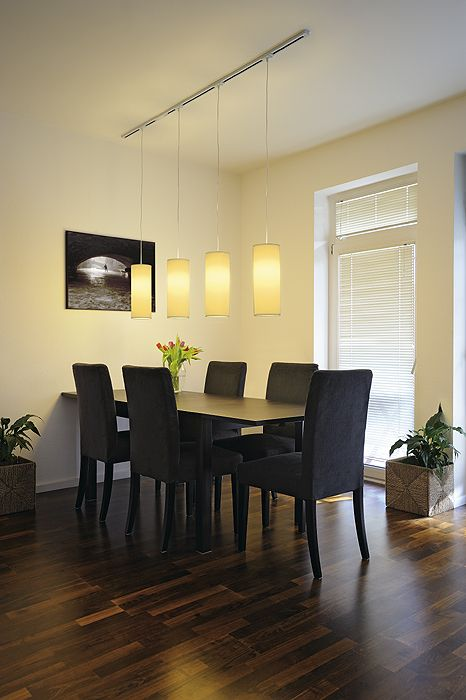 track pendant lighting dining room