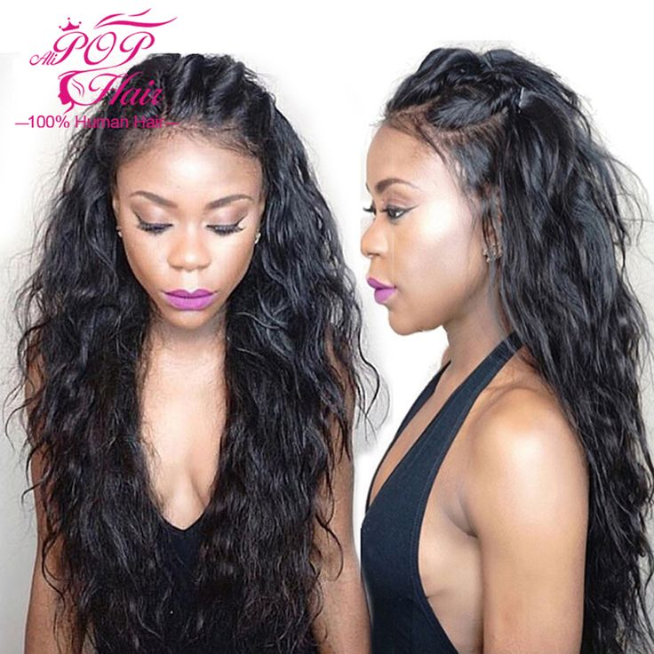 7A Indian Remy Natural Wave Hair Full Lace Human Hair Wigs With Baby Hair Glueless Full Lace Wigs Lace Front Human Hair Wigs