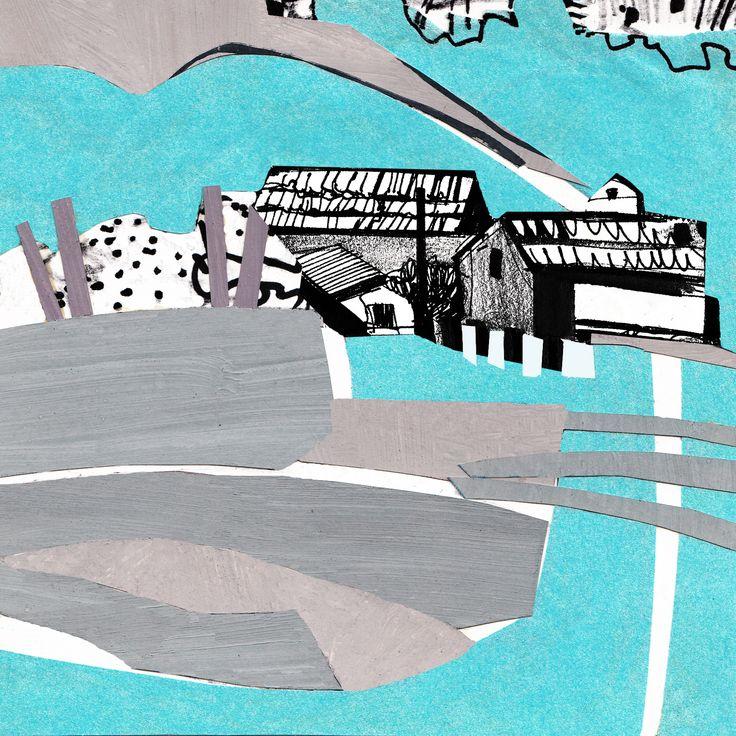 """Collage Landscape #9"" Author: Alina Shagidullina (a creator and owner of HOUZY) @_houzy"