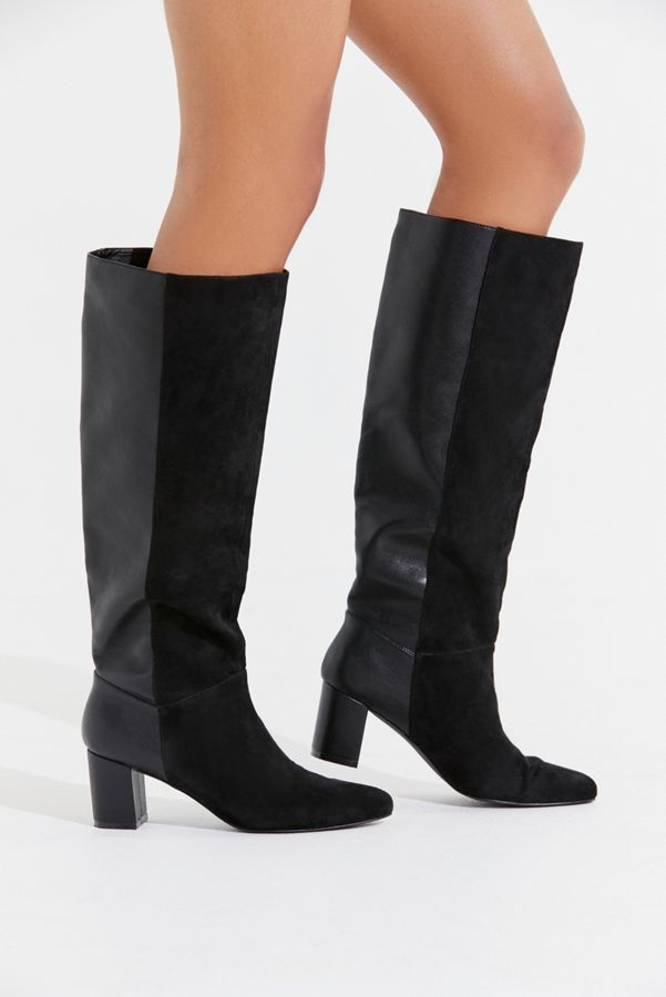 b2a1c1ec539 DetailsProduct Sku  47958335   Color Code  001Oversized + dramatic knee-high  boot from