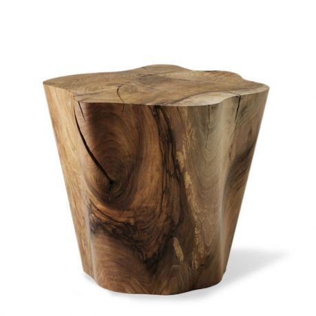 The tree trunk may be the earliest piece of furniture, and Sé brings it right up to date with By The Trees, which function as either stools or side tables.  19.7W × 18.3D × 16.5H  Designer: Damien Langlois-Meurinne Collection I  Side table or stool available in Solid American Walnut.