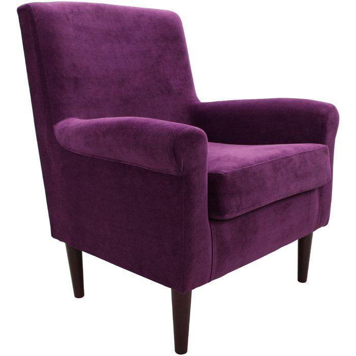 Ronald 20 Armchair Chair Armchair Purple Chair