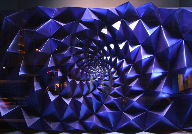 'Apifera' Selfridges store window display in London, created for the London Design Festival 2008.