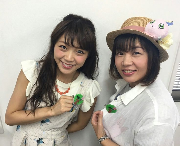 Digimon adventure festival 2016 sora & piyomon seiyuu @bluecttncndy