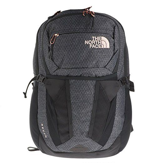 c47a26384 The North Face Women Recon - TNF Black Heather & Burnt Coral ...