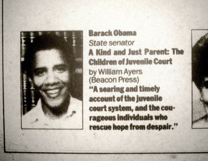 Barack Obama's review of William Ayers' book