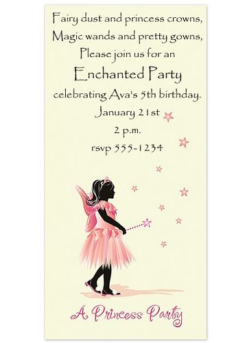 Princess Birthday Invite Arianna S Next Party Someday You Ll Have