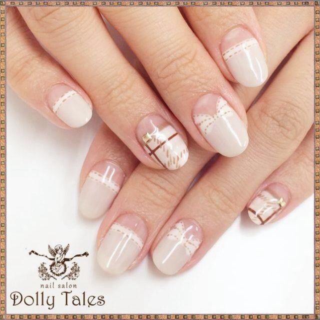 DollyTales_nailさんのベージュ,レースネイル♪[394231]|ネイルブック