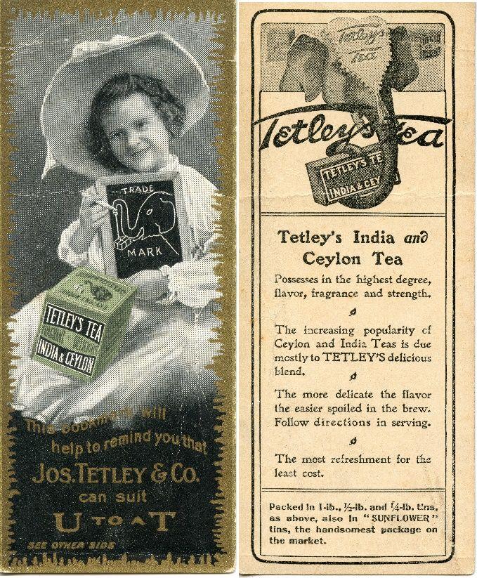 Tetley Tea - 1880's
