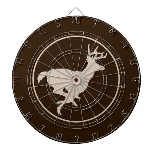 Hunting Hunter Buck Running Animal Running Dartboard
