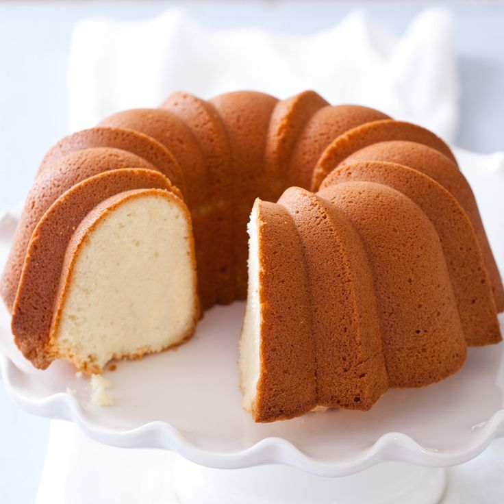 Cream Cheese Pound Cake - Cook's Country