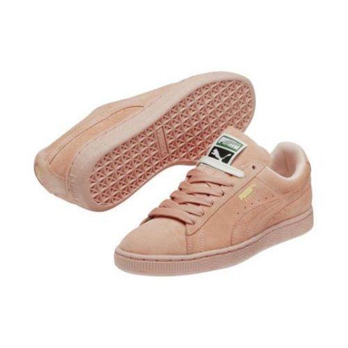 Puma - Puma - Chaussures Suede Mono Rose Pastel Basket