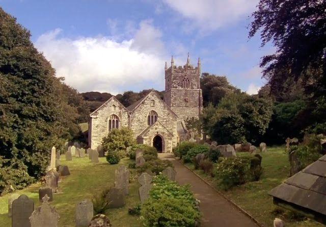 Veryan Church, Cornwall.