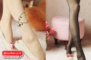 BUY 1 GET 1 Free - Cantik & Stylish Dengan Stocking Berhias Motif Gelang Kaki Hanya Rp.49,000  - www.evoucher.co.id #Promo #Diskon #Jual  Klik > http://evoucher.co.id/deal/Stocking-Berhias-Motif-Gelang-Kaki  Stocking Mu akan tampil lebih menarik dengan motif gelang kaki. imut, simple, dan menarik kesan yang kamu dapat dari orang yang melihatmu. Buruan Beli Sebelum Kehabisan - Very Limited Stock  Pengiriman mulai 2014-02-28