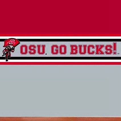 Ohio State Helmet Wallpaper Border Ohio State Buckeyes