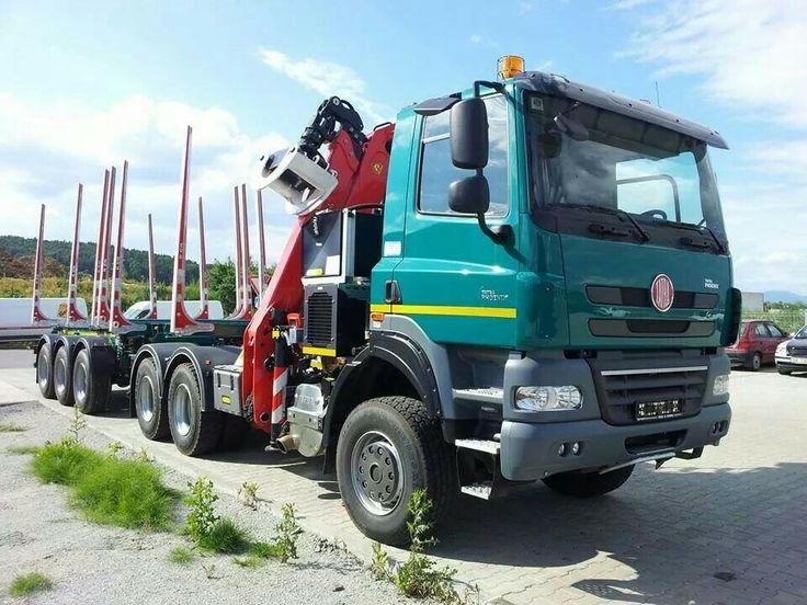 Tatra Phoenix log truck.
