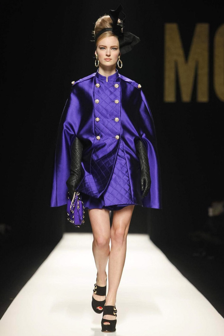 Fall winter 2013 fashion trends for women - Moschino Milan Fashion Week Fall Winter 2012 2013 Women S Collection
