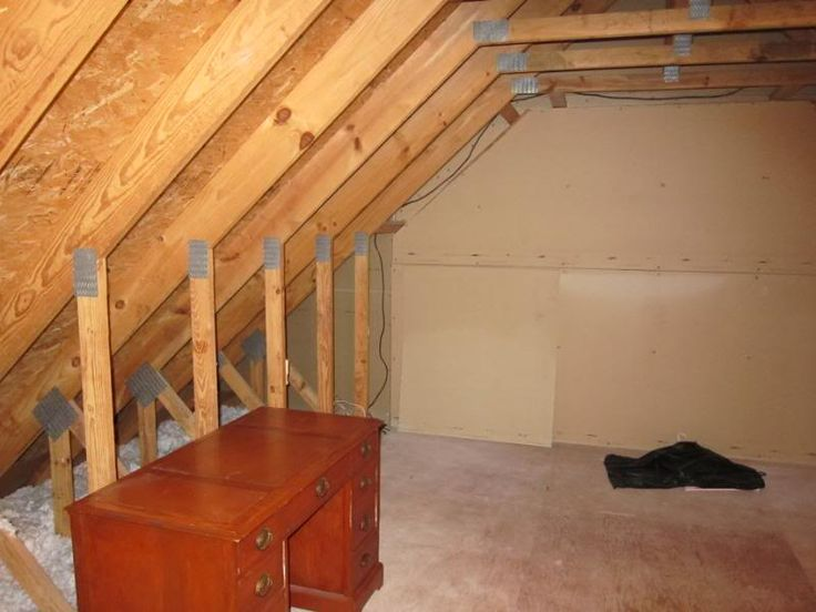 17 Best Images About Finished Attic Space On Pinterest This Old House Attic Remodel And Storage