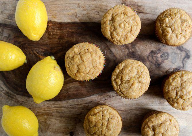 Brown Sugar Lemon Mascarpone Muffin Recipe