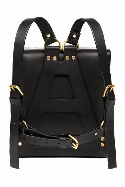 Gorgeous Leather backpack with great subtle detailing by Open Ceremony, retailing at a cool $1,170!....x