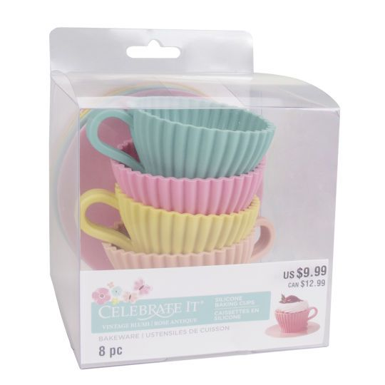 <div>Imagine how fun it would be to serve cupcakes or other individual desserts in these darling...