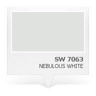 SW 7063 - Nebulous White