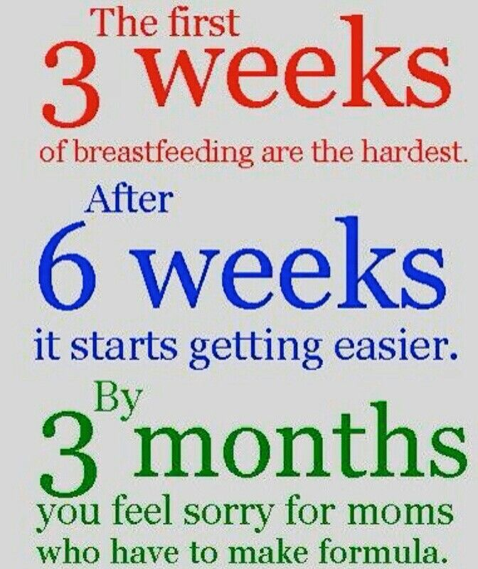 Breastfeeding. I  remember this clearly and see it with clients ALL. THE. TIME!  Take it day by day and ask for quality help and you will be very surprised how quickly you get to that last mark.