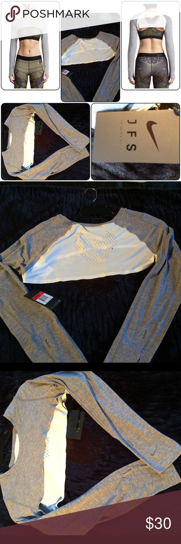 Nike short over bra shirt Nike ~Large, but run small~ Nike Tops Crop Tops