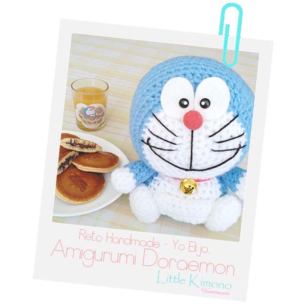Amigurumi Doraemon - Reto Handmade