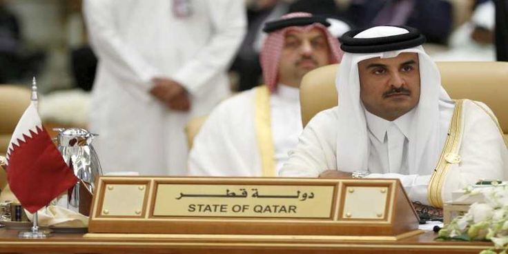 """Top News: """"MIDDLE EAST POLITICS: Saudi Arabia, Egypt, UAE, Bahrain Vow to Punish Qatar Harder"""" - https://i1.wp.com/politicoscope.com/wp-content/uploads/2017/06/FILE-PHOTO-The-Emir-of-Qatar-Tamim-bin-Hamad-al-Thani-attends-the-final-session-of-the-South-American-Arab-Countries.jpg?fit=1000%2C500 - Saudi Arabia completely shuttered the land border with Qatar in order to cripple the neighboring country's food supply.  on Politics - http://politicoscope.com/2017/07/07/middle-ea"""