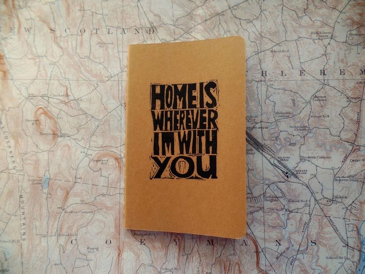 m e s s y b e d s t u d i o  #moleskine #notebook home is wherever i'm with you