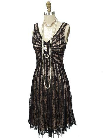 Great Gatsby Dresses for Sale | ... Satin Gatsby Dress - great gatsby dresses - 1920's cocktail dress