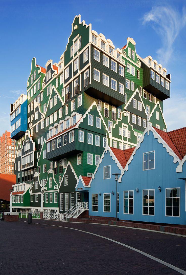 Inntel Hotel Zaandam, designed by WAM architecten, Zaandam/Netherlands