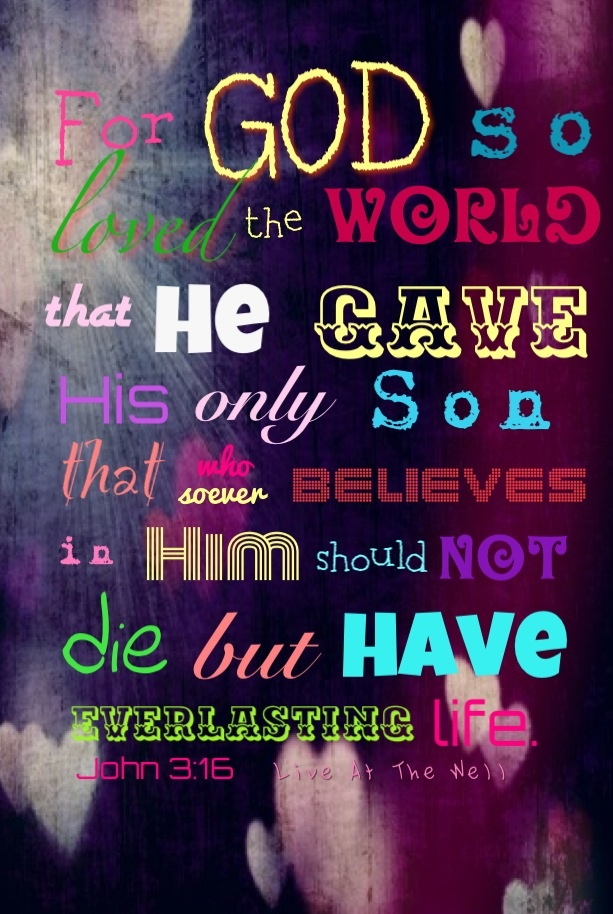 <3 John 3:16
