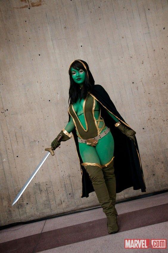 Gamora | In Costume...Marvel | Pinterest | More Thanos ...