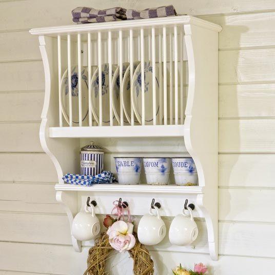 great pattern for hanging plate holder/miniature - Inspiration & 38 best PLATE RACKS images on Pinterest   Plate racks Dish racks ...