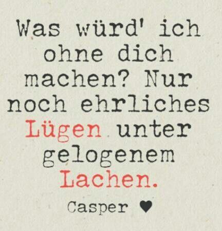 *Was Würd Ich Ohne Dich Machen?...* - Casper/20qm