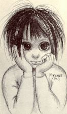 "Margaret Keane | Awake Magazine Article: Margaret Keane ""My Life as a Famous Artist"" From sad eyes, to bright eyes!"
