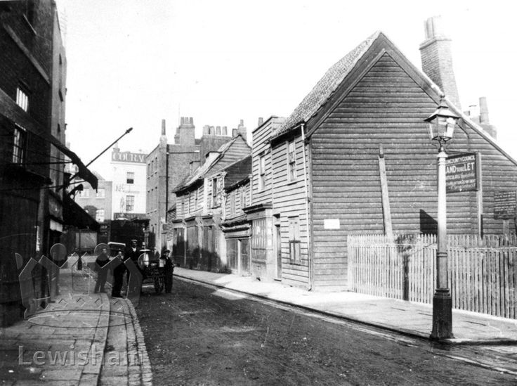 Houses In Old Flagon Row, North Side, Deptford